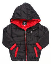 Boys - CORE PUFFER JACKET (4-7)