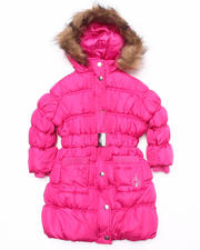 Baby Phat - IT'S DOWN LONG COAT (2T-4T)