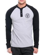 Enyce - Flying Tiger Graphic Baseball Henley
