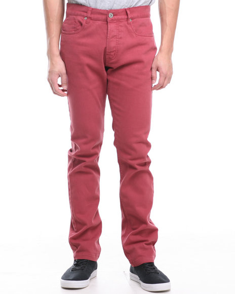 Fourstar Red Koston Signature Tapered Slim Fit Jeans