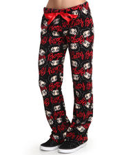Graphix Gallery - Betty Boop Plush Printed Pants