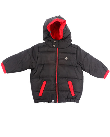 LRG Boys Black Core Puffer Jacket (2T-4T)