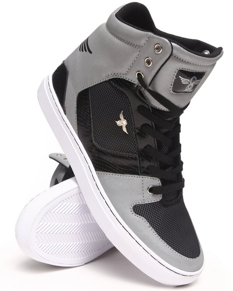 Creative Recreation Black Nostra Hightop Sneaker