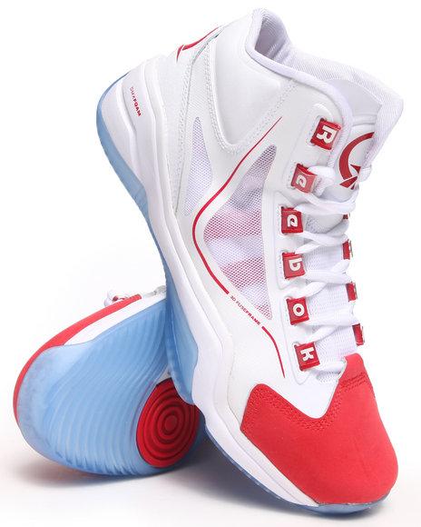 Reebok White Q96 Crossexamine Sneakers
