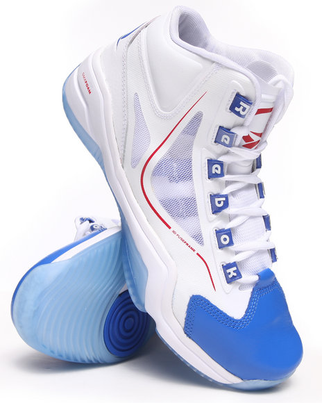 Reebok - Men White Q96 Cross Examine Sneakers