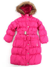 Baby Phat - IT'S DOWN LONG COAT (4-6X)