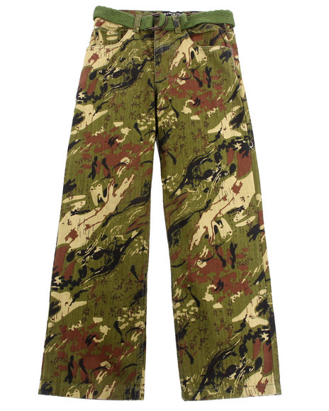 Fitted Camo Pants