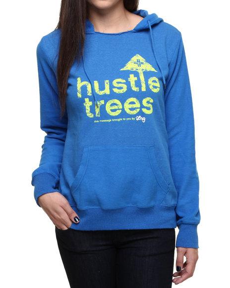 LRG Blue Blogger Hustle Trees Pullover
