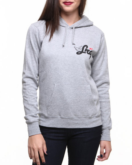 LRG Grey Above The Crowds Pullover Hoodie