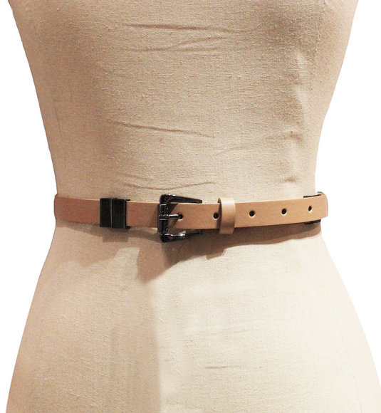 Kensie - Women Tan Vegan Leather Reversible Belt