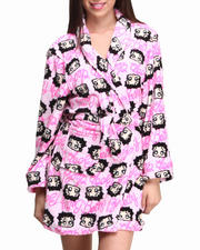 Graphix Gallery - Betty Boop Plush Robe