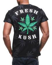 T-Shirts - Premium Felt Patch Kush Tee