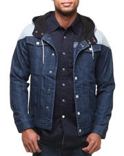 Buyers Picks - Fleece Block Cut and Sew Denim Jacket