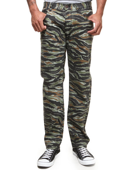 Lrg - Men Camo Core Collection True-Straight Twill Pants