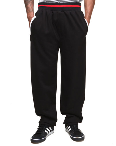 Basic Essentials - Men Black Street Elephant Sweatpants