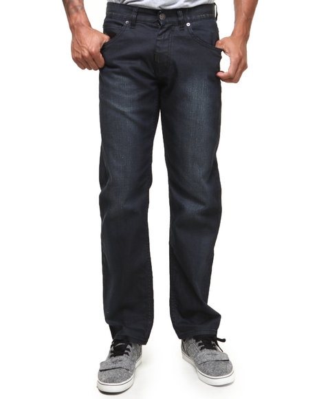 Lrg - Men Black Retro Eternity True-Straight Jeans