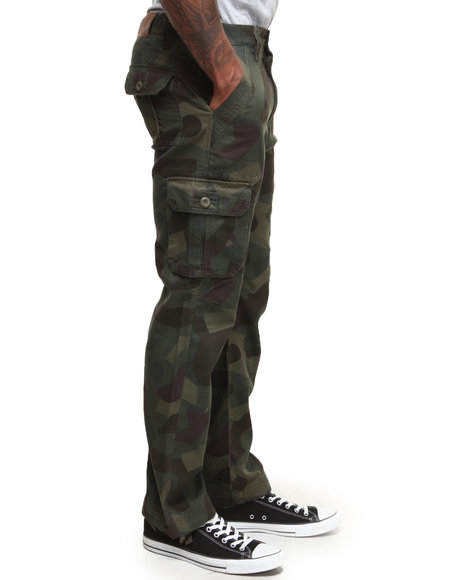 Buyers Picks - Men Camo Grand Camo Straight Fit Cargo Pants