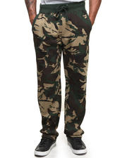 Men - Camo Fleece Sweat Pants