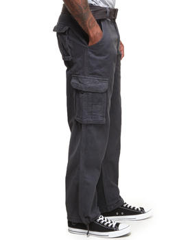 Buyers Picks - Washed Twill Cargo Pants with Belt