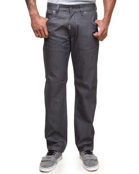 LRG - Men Charcoal Legacy True-Straight Jeans