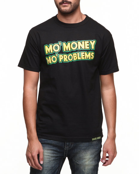 Shake Junt Black,Yellow Mo Money Tee