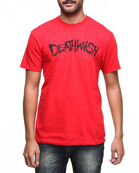 Deathwish Skateboards Black,Red Street Spray Tee