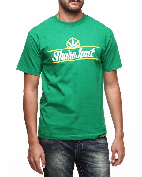 Shake Junt Green,White Pure Bud Tee