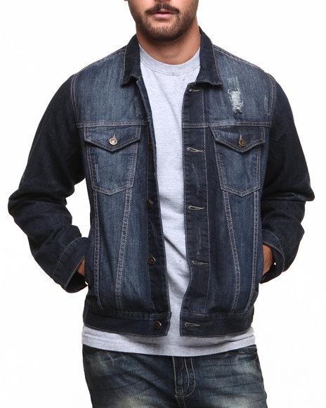Basic Essentials Dark Wash Denim Jacket