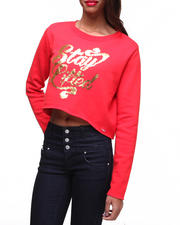 Women - Metric Pullover Crew Neck Sweatshirt