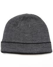 DRJ Accessories Shoppe - Cuff Herringbone Hat