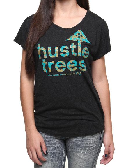 Lrg - Women Black Hustle Dolman Top - $20.99