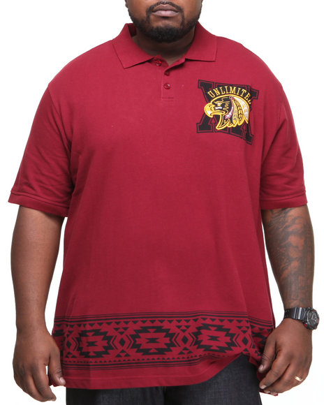 Ecko - Men Red Tribe S/S Polo (B&T)