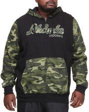 Men - Stealth All Over Fleece Zip Hoody (B&T)