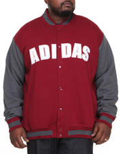 Adidas - Fleece Varsity Jacket
