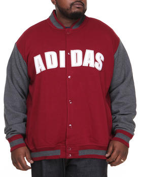 Adidas - Fleece Varsity Jacket
