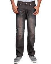 Jeans & Pants - Coated Colored Slim Straight Denim Jeans