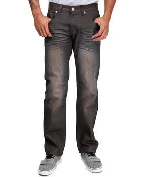 Basic Essentials - Coated Colored Slim Straight Denim Jeans