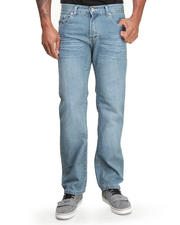 Basic Essentials - Pinch Pocket Slim Straight Denim Jeans
