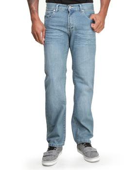 Basic Essentials - Pinch Pocket Slim Straight Denim Jeans