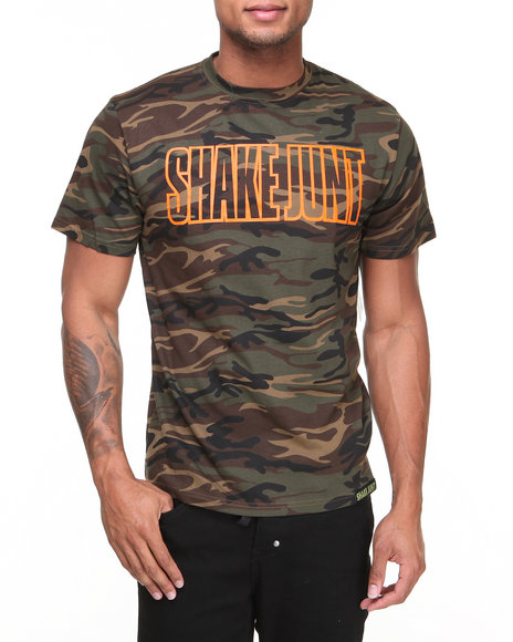 Shake Junt Camo,Orange Mainline Tee