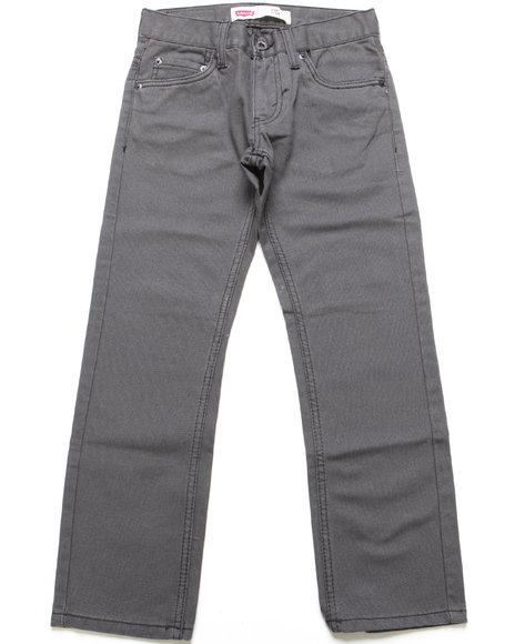 Levi's Boys Grey 511 Bedford Corduroy Pants (8-20)