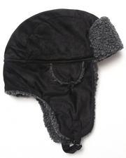 DRJ Accessories Shoppe - First Aviator Microsuede Hat w/berber