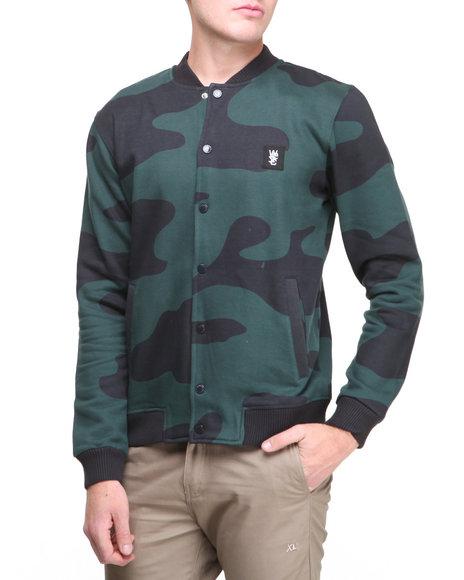 WESC Multi Camolarge All Over Print Fleece Jacket