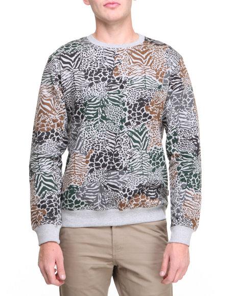 Wesc Grey Pullover Sweatshirts