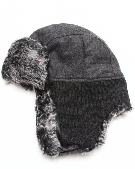 Drj Accessories Shoppe - Men Grey The Aviator Hat