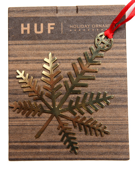 Huf Men Huf Holiday Ornament Bronze
