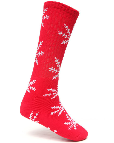 Huf Men Nordic Crew Socks Red