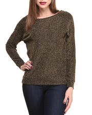 Women - Seven Metallic L/S Top
