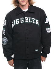 Men - Dartmouth Padded Canvas Ivy League Varsity Jacket