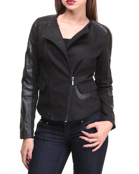 Basic Essentials Leather Jackets